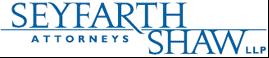 Seyfarth & Shaw LLP